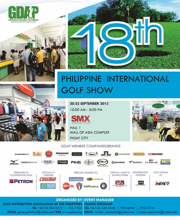 Ready, Set, Golf: The 18th Philippine International Golf Show 2013