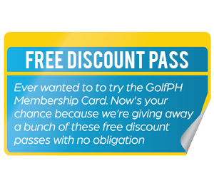 Get a Free GolfPH Discount Pass