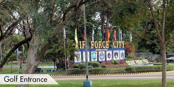 Golf Entrance at Air Force City Golf Club
