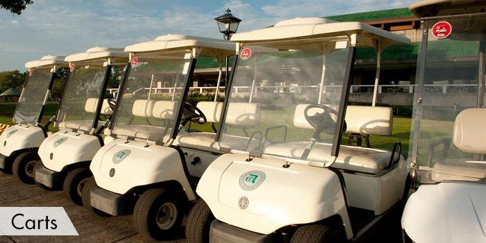 Alabang Country Club Carts