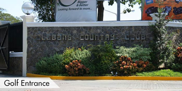 Alabang Country Club Golf Entrance