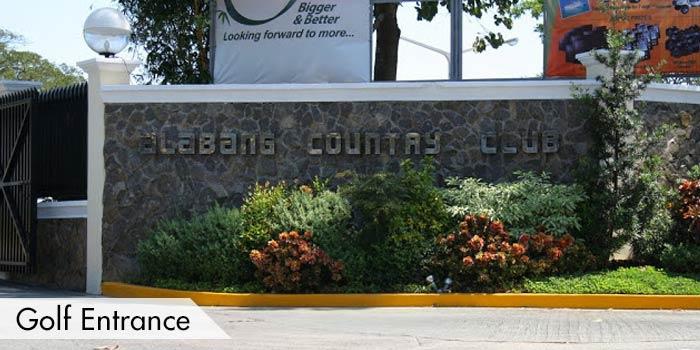 Alabang Country Club Golf Entrance