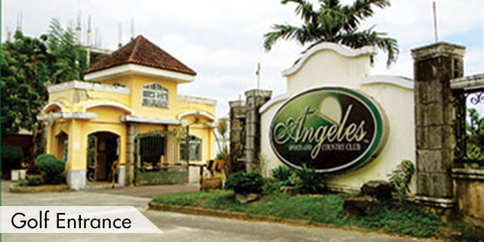 Angeles Sports & Country Club Golf Entrance