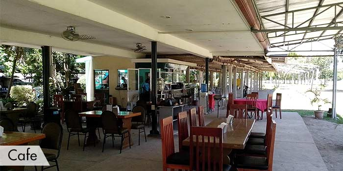 A Cafe at AngTay Golf and Country Club