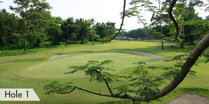 AngTay Golf and Country Club Hole 1