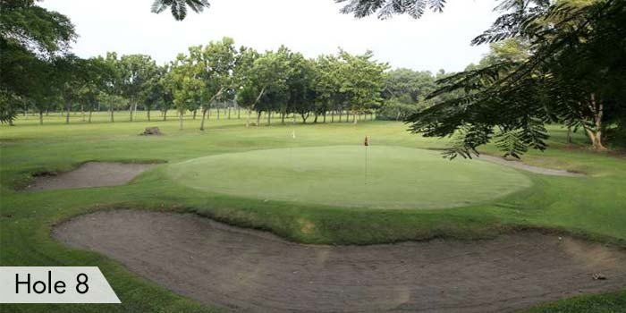 AngTay Golf and Country Club Hole 8
