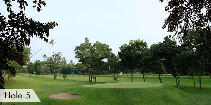 Hole 5 Bunker at AngTay Golf and Country Club