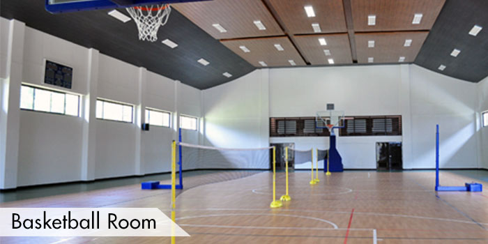 A Basketball Room at Anvaya Cove Golf & Sports Club