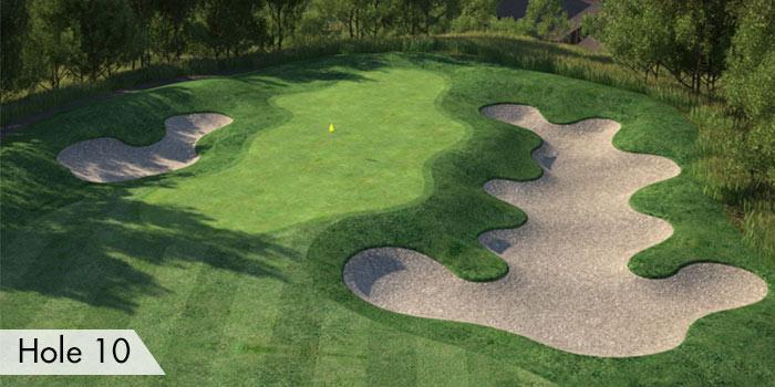 Anvaya Cove Golf & Sports Club Elevated Hole 10