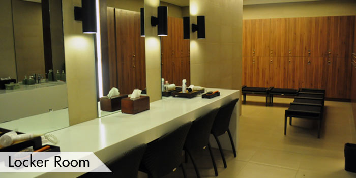 Anvaya Cove Golf & Sports Club Locker Room