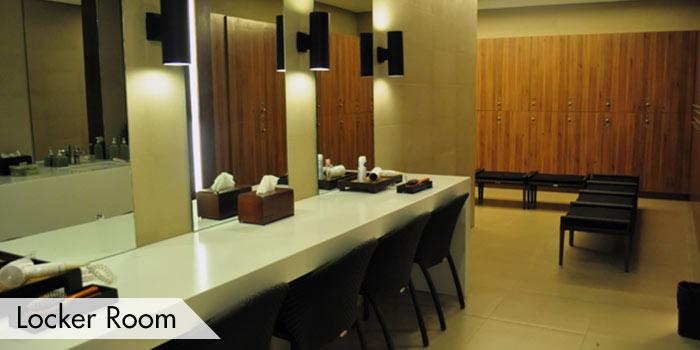 Anvaya Cove Golf & Sports Club Locker Room