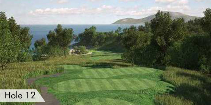 Hole 12 of Anvaya Cove Golf & Sports Club