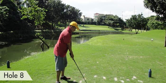 Army Golf Club Hole 8