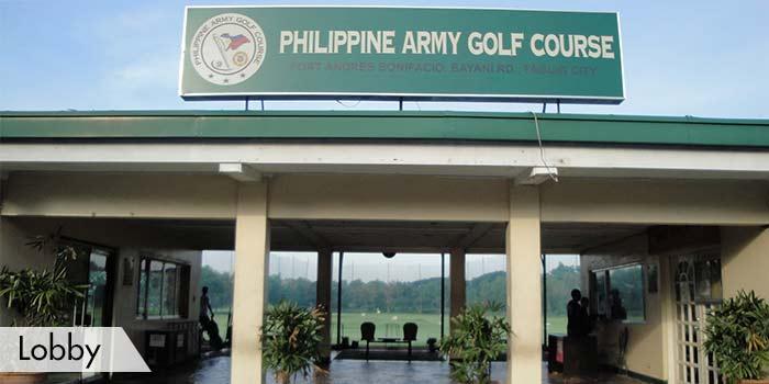 Army Golf Club Lobby