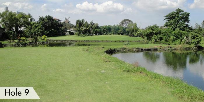 Hole 9 at Army Golf Club