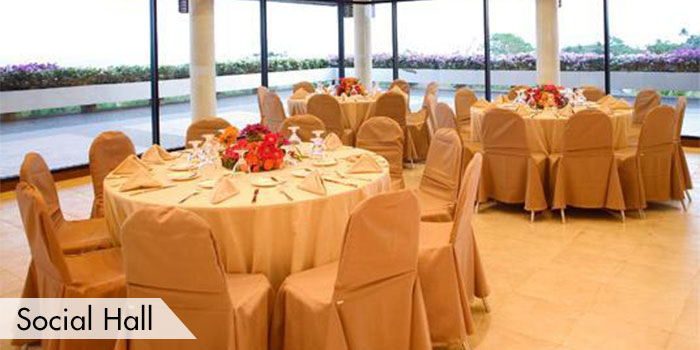 The Socail Hall of Ayala Greenfield Golf & Leisure Club