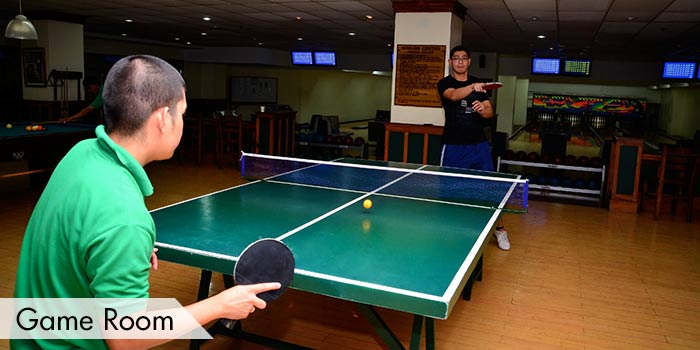Baguio Country Club Game Room
