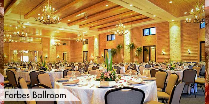 Forbes Ballroom of Baguio Country Club