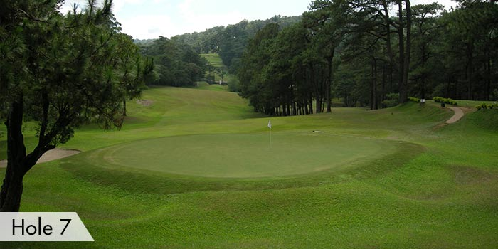 Hole 7 at Baguio Country Club