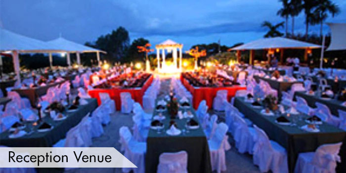 Reception Venue at Bravo Golf Hotel Resort & Spa