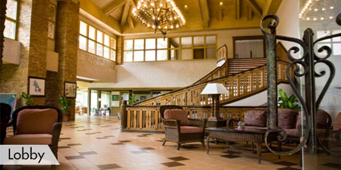 Lobby at Calatagan Golf Club, Inc.