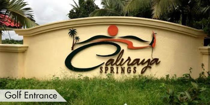 Golf Entrance at Caliraya Springs Golf & Marina Leisure Community