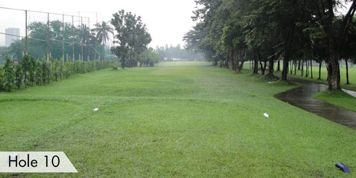 Camp Aguinaldo Golf Club Hole 10