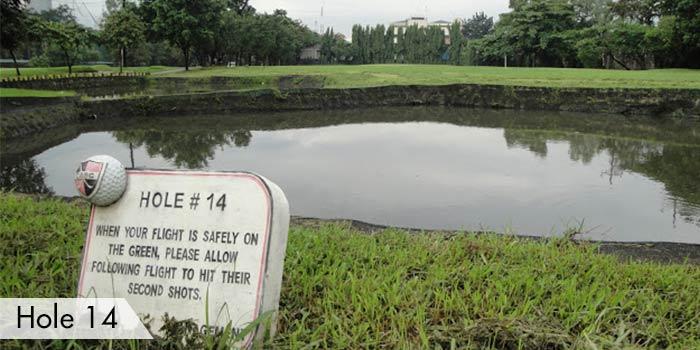 Camp Aguinaldo Golf Club Hole 14