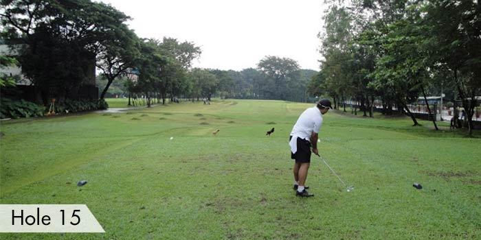 Camp Aguinaldo Golf Club Hole 15