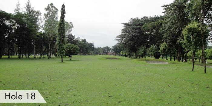 Camp Aguinaldo Golf Club Hole 18