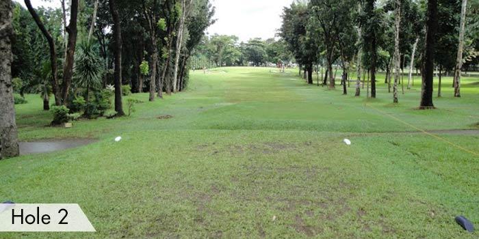Camp Aguinaldo Golf Club Hole 2