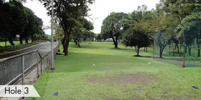 Camp Aguinaldo Golf Club Hole 3