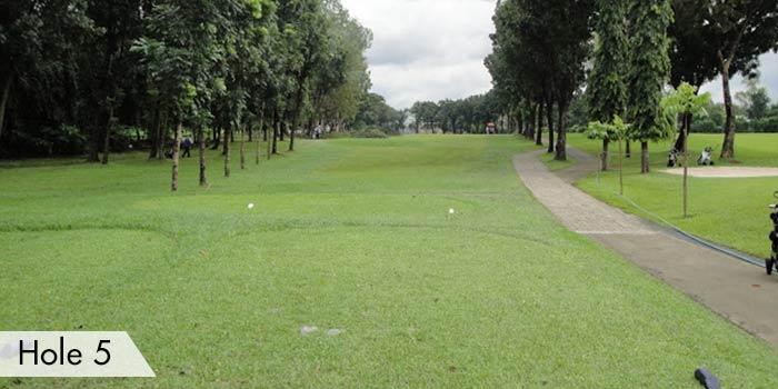 Camp Aguinaldo Golf Club Hole 5