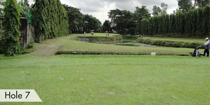 Camp Aguinaldo Golf Club Hole 7