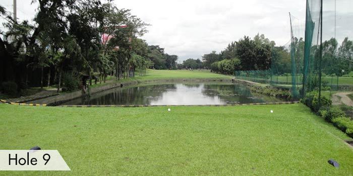 Camp Aguinaldo Golf Club Hole 9