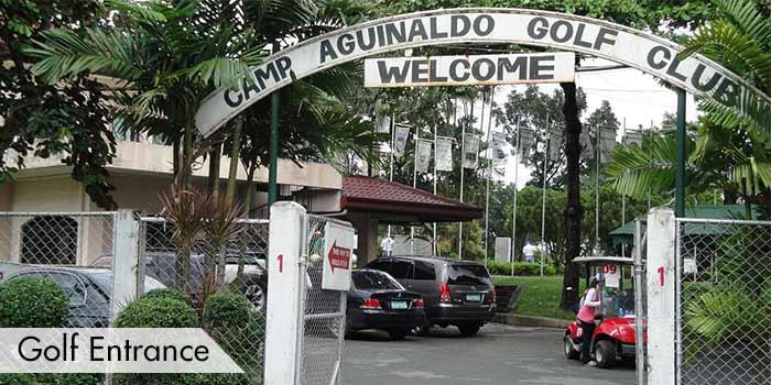 Golf Entrance og Camp Aguinaldo Golf Club