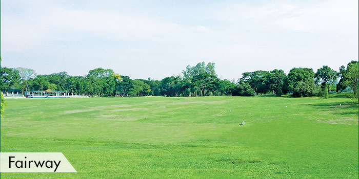 Camp Aquino Golf CLub Fairway