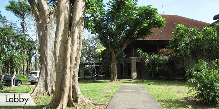 Lobby of Canlubang Golf & Country Club