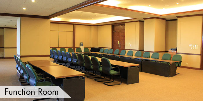 Function Room of Canyon Woods Residential Resort
