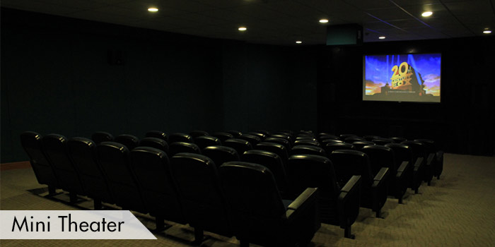 Mini Theater of Canyon Woods Residential Resort