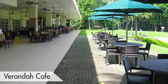 Cafe at the Verandah at Cebu Country Club