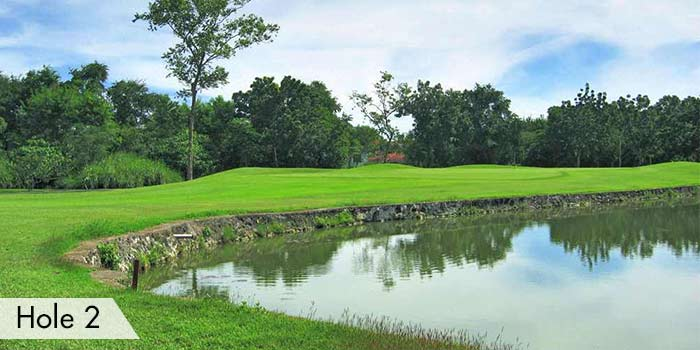 Cebu Country Club Hole 2