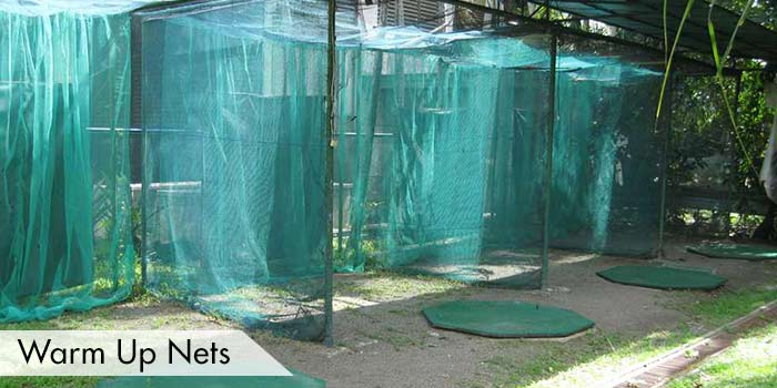 Warm Up Nets at Cebu Country Club