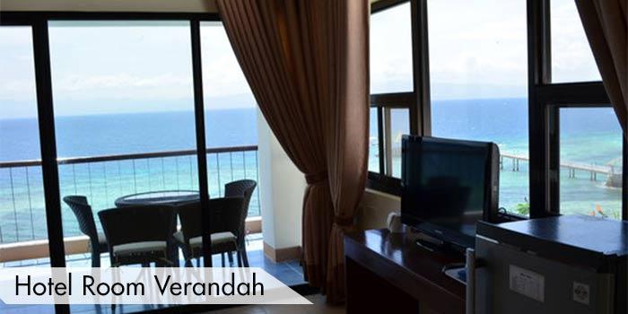 View From Hotel Rooms at Cebu International Golf & Resort