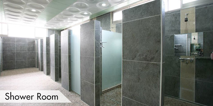 Shower Room at Clark Sun Valley Golf & Country Club