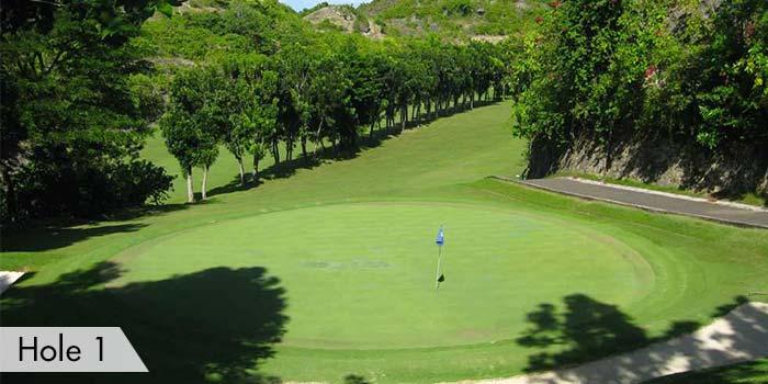 Club Filipino Inc. de Cebu Hole 1