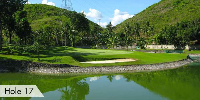 Club Filipino Inc. de Cebu Hole 17