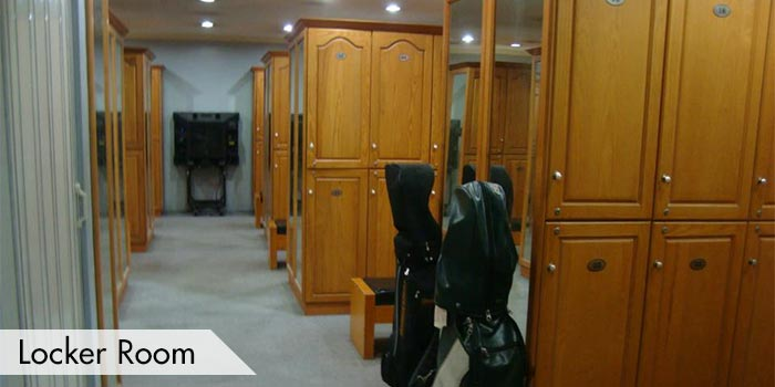 Club Intramuros Golf Course Locker Room