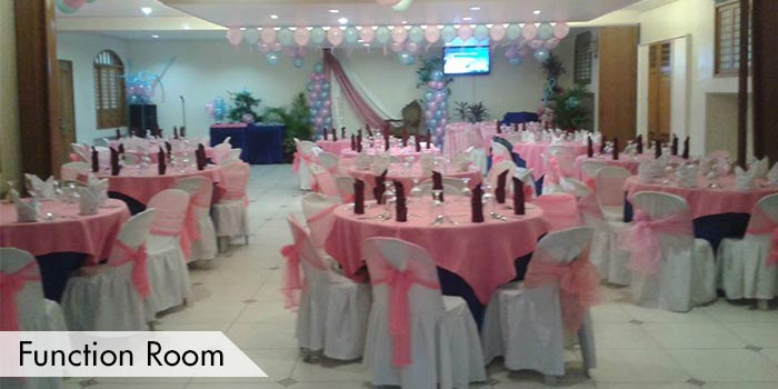 Function Room at Club Intramuros Golf Course