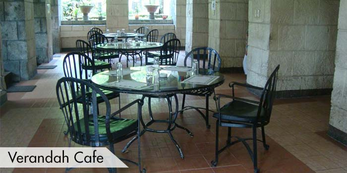 Verandah Cafe at Club Intramuros Golf Course